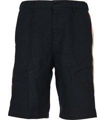 web detail bermuda shorts