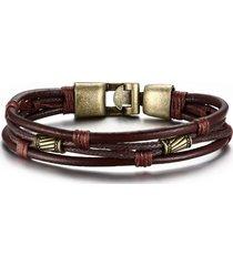 braccialetto etnico a multistrati