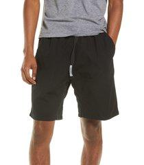 carhartt work in progress clover shorts, size medium in black at nordstrom
