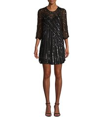 alejandra sequin shift dress
