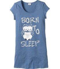 camicia da notte (blu) - bpc bonprix collection