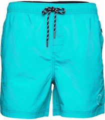 waldo packable swim shorts badshorts grön sebago