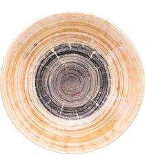 conjunto de 6 pratos fundos 20,5cm unni puzzling - multicolorido - dafiti