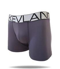 cueca boxer kevland microfibra cinza elástico prata