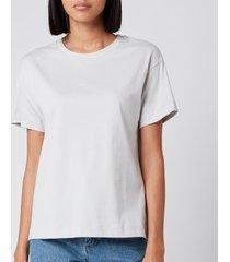 a.p.c. women's jade t-shirt - white - l