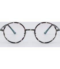 armação para óculos de grau feminina redonda preto