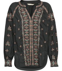 charlotte blouse blouse lange mouwen zwart odd molly