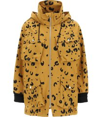 kenzo cheetah print parka