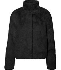 thea 3/4 faux fur jacket
