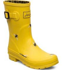 molly welly regnstövlar skor gul joules