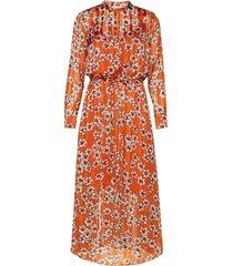 zilmaiw hilma dress maxiklänning festklänning orange inwear