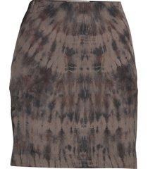 laisa kort kjol brun rabens sal r