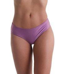 calcinha biquíni avulso anatômica liso - lilás - líquido