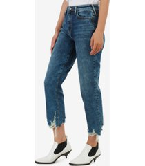 true religion women's starr high rise straight fit jean