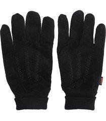 schott gl482 gloves in black wool