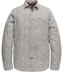 long sleeve shirt melange print dark grey