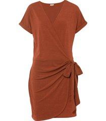 abito a portafoglio (marrone) - bodyflirt