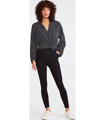 lou & grey trouser ponte pocket leggings