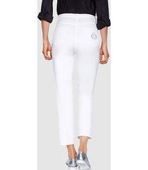 ankellånga byxor dress in vit