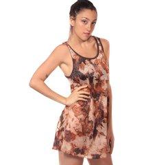 vestido chocolate clon vest1e
