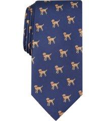 club room men's labrador convo print tie, created for macy's