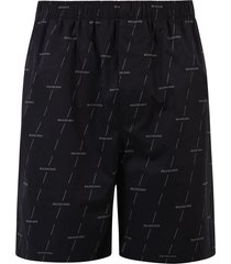 balenciaga branded shorts