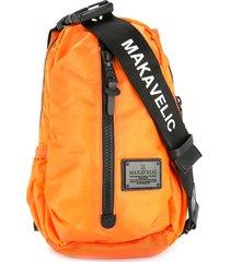 makavelic cocoon sling bag - yellow