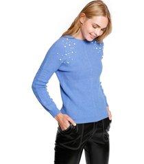 sweater perlas bob azul eclipse