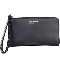 dsquared2 designer wallets, wallet clutch with logo