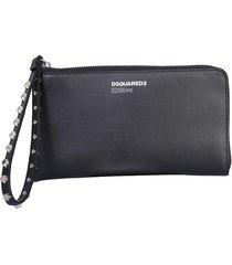 dsquared2 designer wallets, wallet clutch with logo