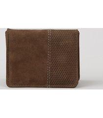 carteira masculina em couro marrom