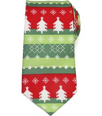 men's cufflinks, inc. christmas tree silk tie