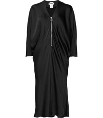 fly dress jurk knielengte zwart hope