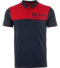 boss pl-tech polo shirt - navy 50399317