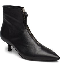 booties 3342 shoes boots ankle boots ankle boot - heel svart billi bi