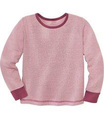 shirt met lange mouw van bourette zijde, roze 110/116