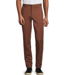 theory men's zaine flat-front pants - copper - size 29