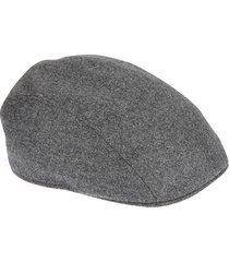 brunello cucinelli rear buckled hat