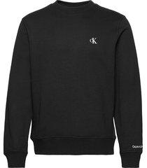 ck essential reg cn sweat-shirt trui zwart calvin klein jeans