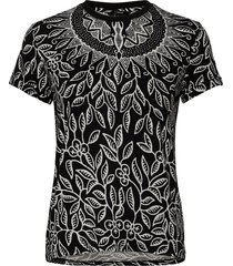 ts dieguita t-shirts & tops short-sleeved svart desigual