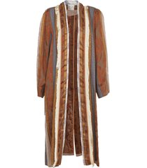 forte forte jacquard and mix patterns coat