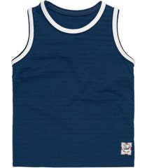camiseta regata marisol - 10316708b - azul - menino - dafiti
