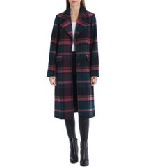avec les filles plaid walker coat, created for macy's