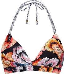 beachlife top bikini foam en wired multicolour