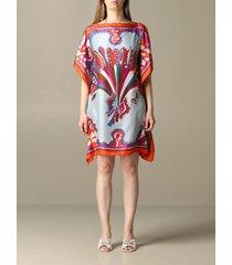 emilio pucci dress emilio pucci kaftan dress with corisco pattern