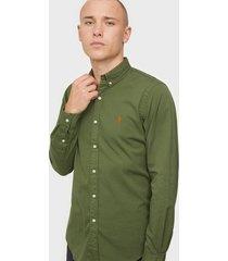 polo ralph lauren long sleeve sport shirt skjortor jungle