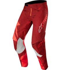 pantalon techstar factory rojo alpinestars