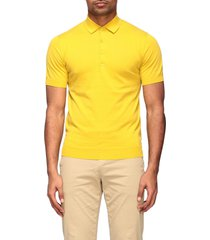 paolo pecora polo shirt paolo pecora short-sleeved cotton polo shirt