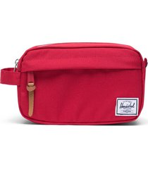 herschel supply co. chapter carry-on dopp kit, size one size - red