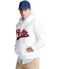 polo ralph lauren men's double-knit logo hoodie